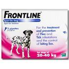 Merial Frontline DOG 20-40kg  [Large Dog] (3 PACK)